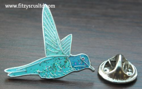 Hummingbird Lapel Hat Cap Tie Pin Badge / Brooch Humming Bird Lovers Gift - New